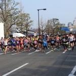 世界遺産姫路城マラソン無事終了