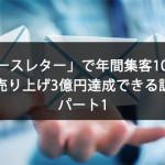 「ニュースレター」で年間集客1000組、売り上げ3億円達成できる訳 パート1